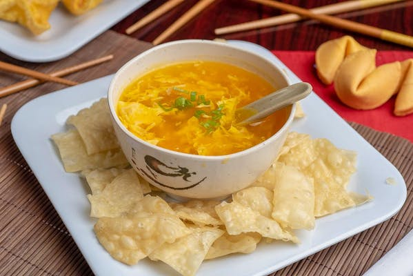 14. Egg Drop Soup
