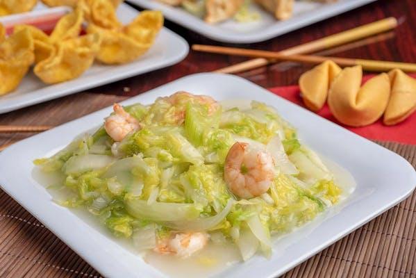 C4. Shrimp Chow Mein