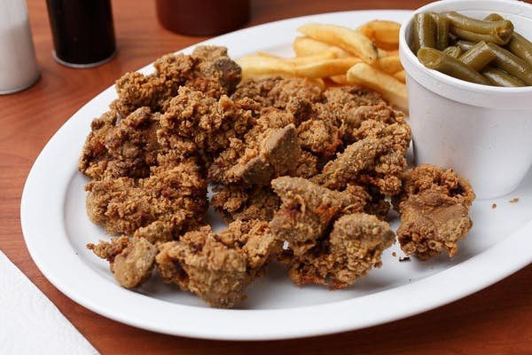Liver or Gizzards Special