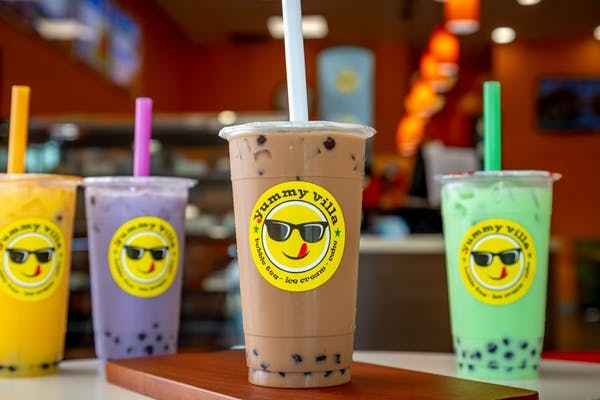 Classic Milk Tea Bubble Tea