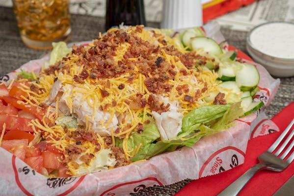 Turkey, Cheddar & Bacon Salad