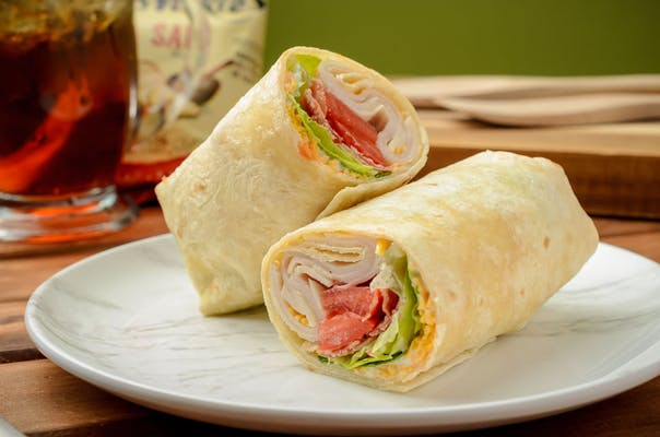 Turkey Bacon Ranch Wrap