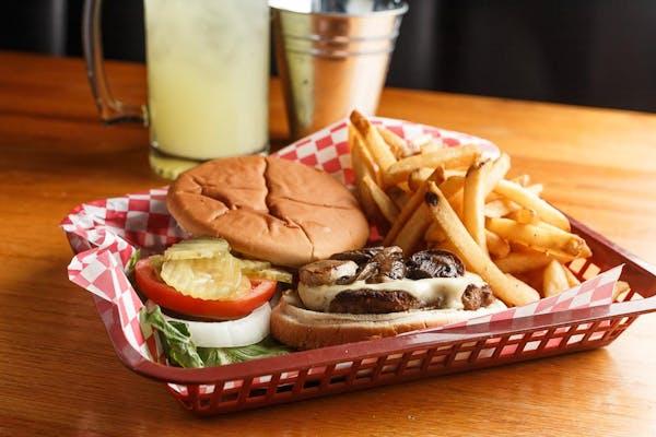 Victoria Swiss Room Burger