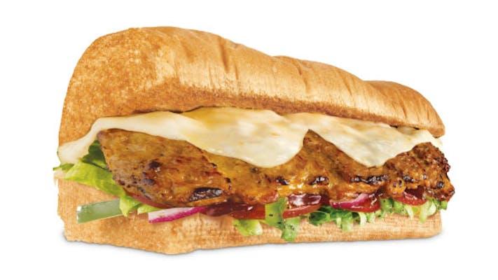 """12"""" Subway BBQ Rib"""