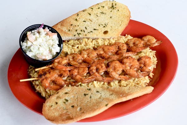 Shrimp Skewer Dinner
