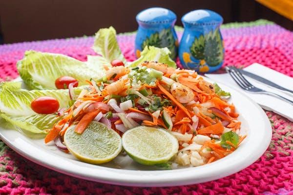 35. Carrot Som Tum with Shrimp