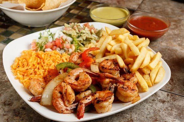 Grilled Shrimp Plate