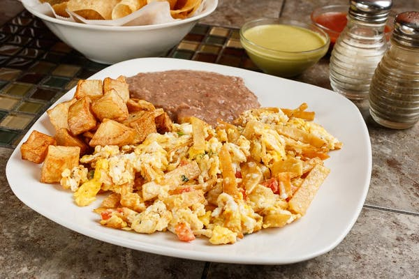 Mexican Migas Plate