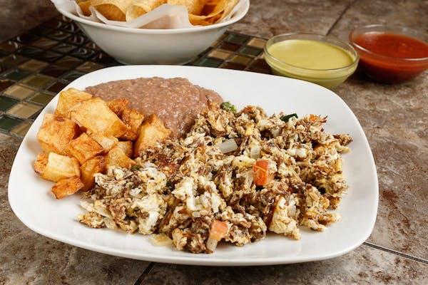 Machacado Taco Plate