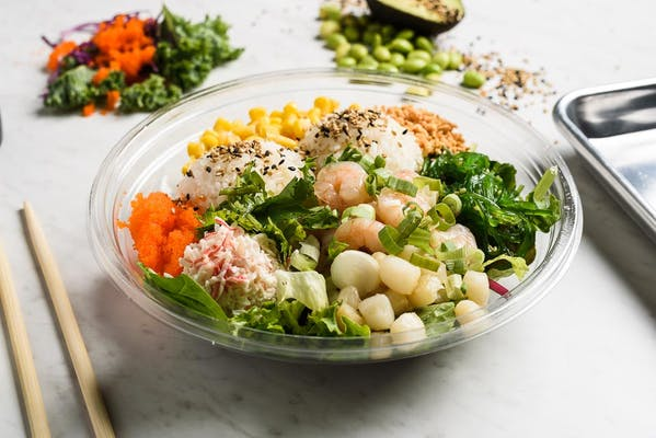 Ocean Mix Poke Bowl