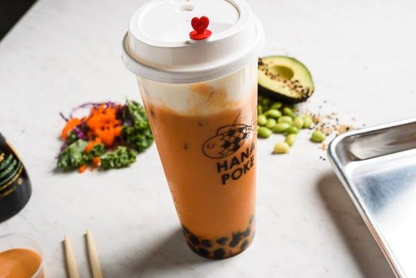 Classic Thai Tea Milk Foam