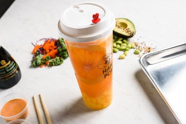 Passion Mango Fruit Tea or Slush