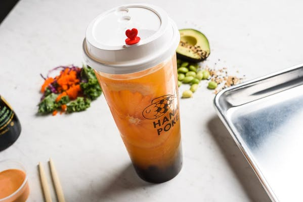 Lychee Peachy Fruit Tea or Slush