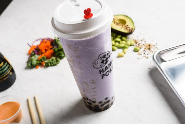 Taro Coconut Milk Smoothie