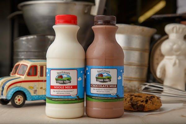 Sparkman's Creamery Milk
