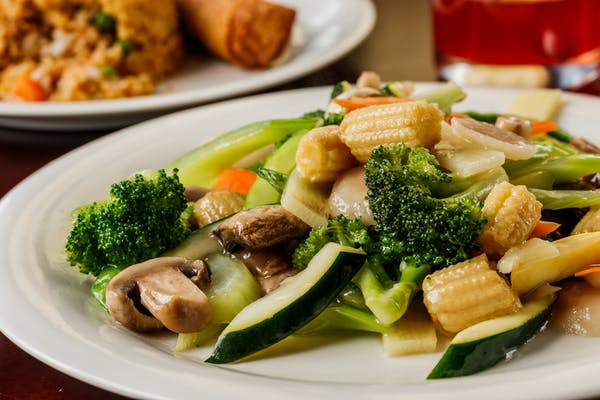 97. Steamed or Sautéed Mixed Vegetables
