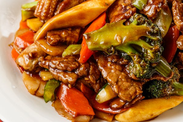 67. Beef with Mixed Vegetables