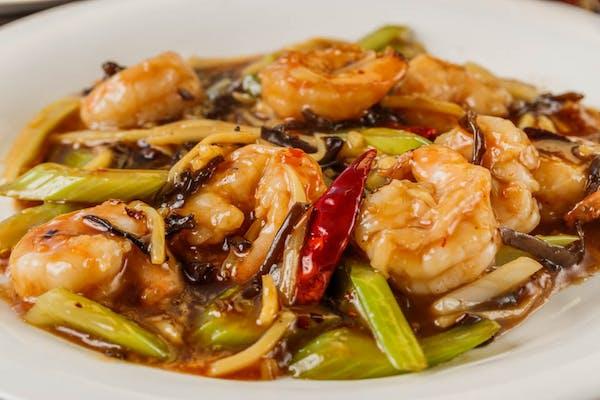 79. Shrimp with Garlic Sauce