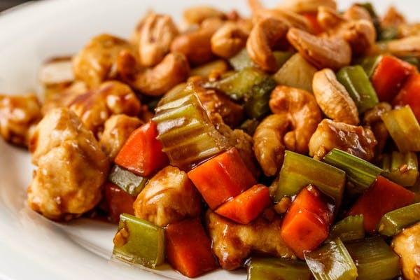 44. Chicken with Cashew Nuts
