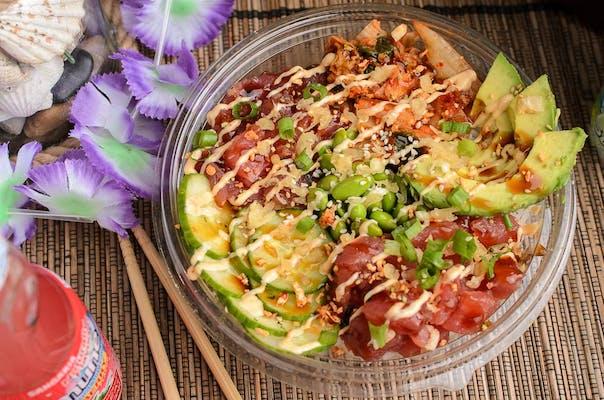 Shoyu Tuna & Kimchi Poke Bowl