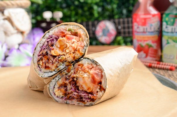 Spicy Tuna Poke Burrito