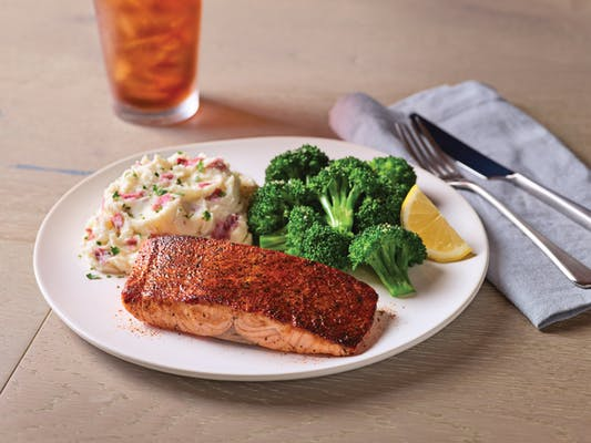 Blackened Cajun Salmon