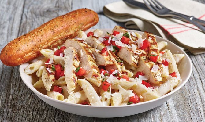 Three-Cheese Chicken Penne