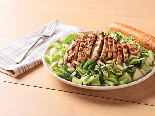 Balsamic Chicken Apple  Salad
