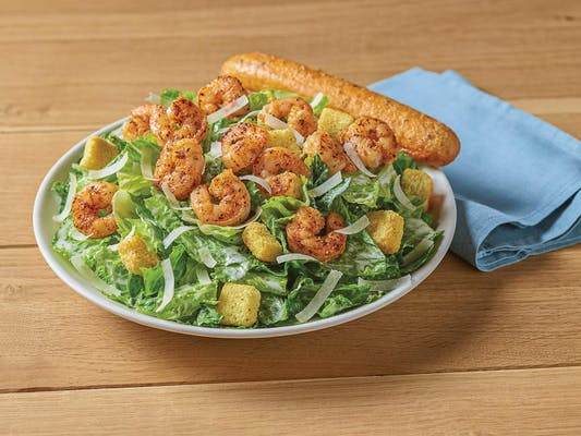 Blackened Shrimp Caesar Salad