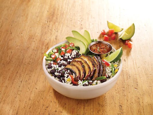 Grilled Portobello Bowl