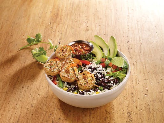 Grilled Shrimp Bowl