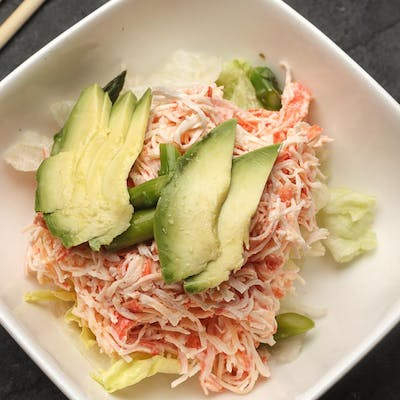 Snow Crab & Avocado Salad