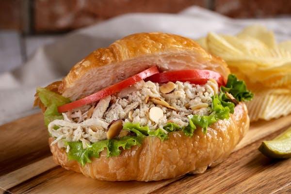 Chicken Almond Croissant Sandwich