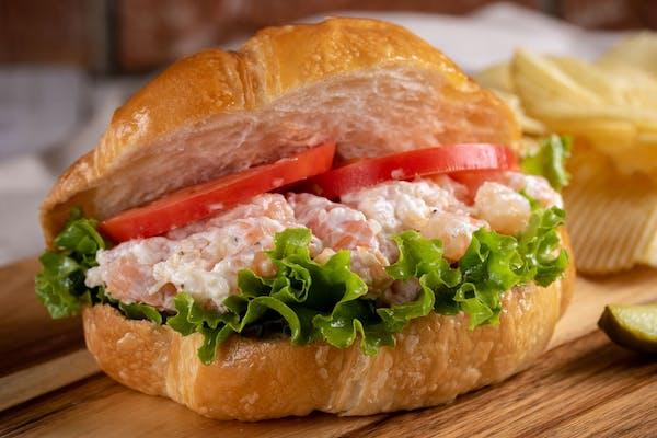 Shrimp Croissant Sandwich