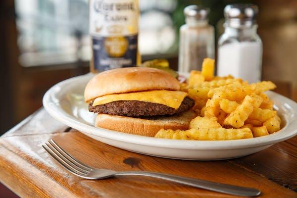 Single Cheeseburger Combo