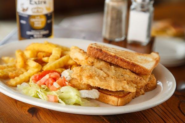 Tilapia Fish Sandwich