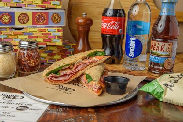 Nonno's Italian Panini Coca-Cola Combo