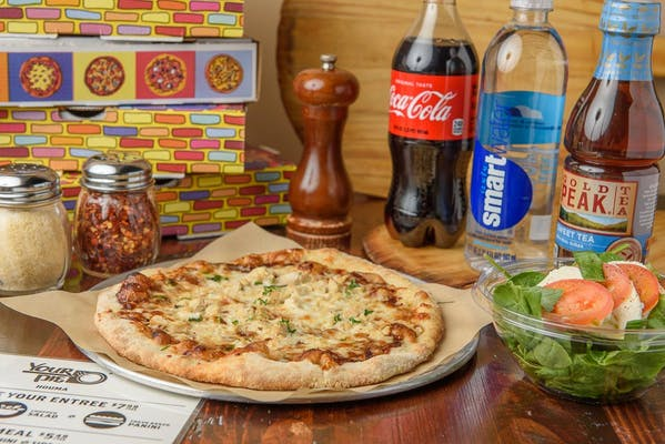 BBQ Chicken Pizza Coca-Cola Combo