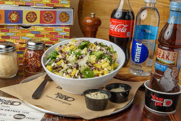 Greek Chopped Salad Coca-Cola Combo