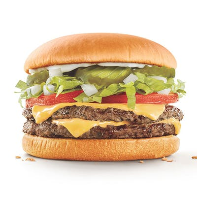 SuperSonic® Double Cheeseburger