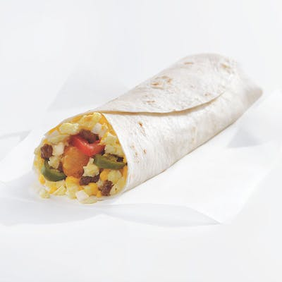 Super Sonic® Breakfast Burrito