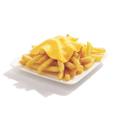 Cheesy Natural-Cut Fries