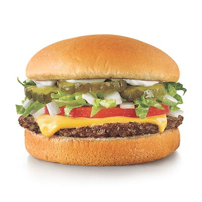 Jr. Deluxe Cheeseburger