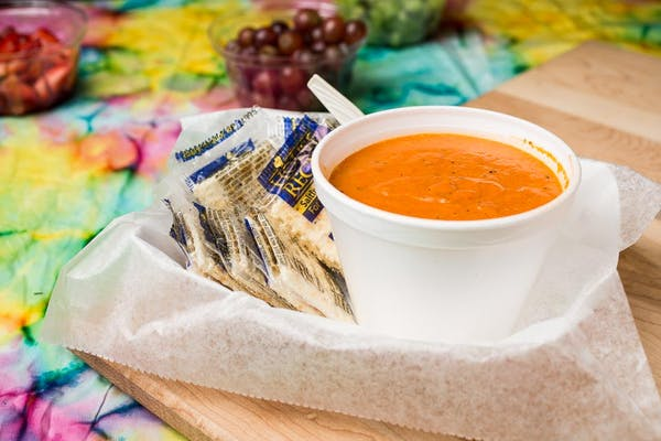 Red Pepper & Smoked Gouda Soup