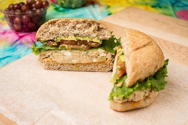 Hot Tuna Melt Sandwich