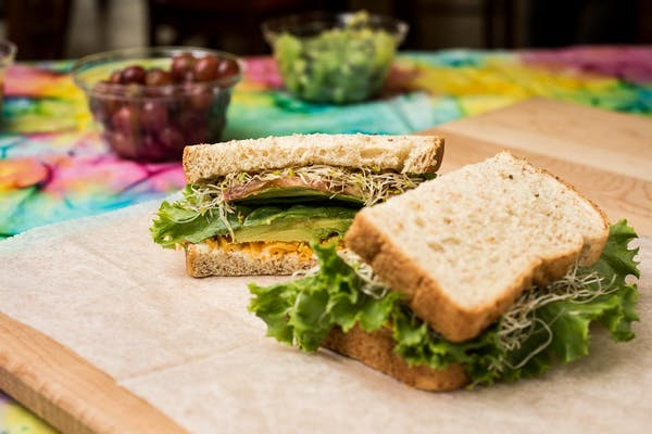 Avocado Delight Sandwich