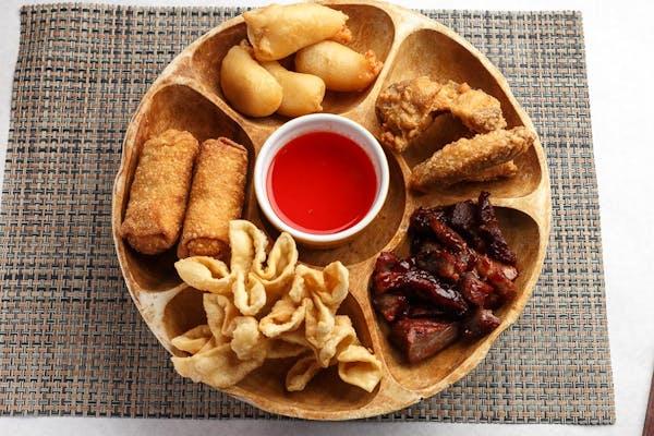 Golden China Platter