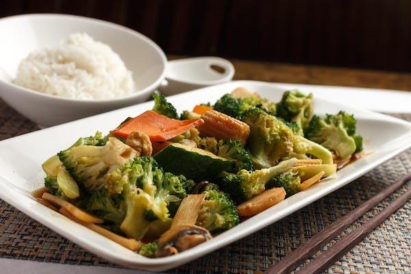 Stir-Fried Fancy Vegetables