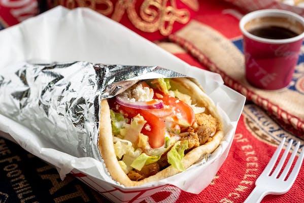 9. Chicken Wrap