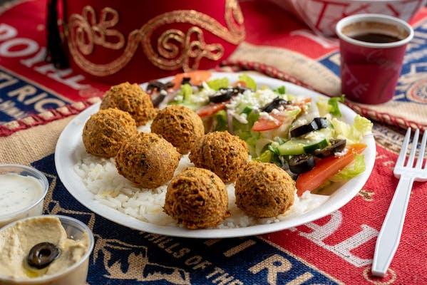 3. Falafel Plate